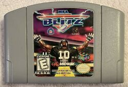 Nfl Blitz Original Nintendo 64 N64 Game Tested And Authentic