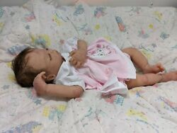 Prototype Solid Ecoflex 15 Silicone Baby Girl Olivia Drink/wet With Armatures