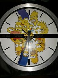 The Simpsons 30th Anniversary Wall Clock 1987-2017