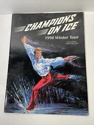 Autographed Signed 1998 Champions On Ice Program Olympic And World Champions