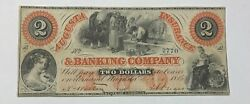 The Augusta Insurance And Banking Company 1861 Augusta Georgia 2 Note