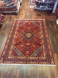 S.antique Hand Knotted Vintage Geometric Area Shiraaz Rug Carpet 6andrsquo10andrdquox9andrsquo92835