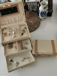 A jewellery box with earrings #13 Home clearance
