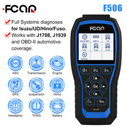 Fcar F506 Heavy Duty Truck Full System Code Reader Obd Scanner Diagnostic Tool