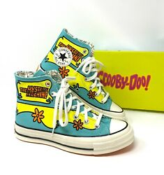 Converse X Scooby Doo Mystery Machine Chuck 70 High Canvas Poor Blue W 169072c