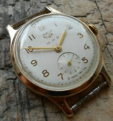 Extremely Rare Original Vintage Soviet Watch Mir 2nd Factory Ussr 1957