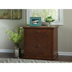 Bookcases Bush Furniture Yorktown Lateral File Cabinet Antique Cherry