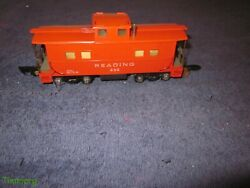 American Flyer 630 S Gauge Reading Illuminated Caboose W/link Couplers