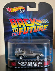 Hot Wheels Retro Entertainment Back To The Future 2 Movie Delorean Time Machine