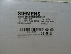 Siemens 547-313a Room Condition Monitor Hvac Controller