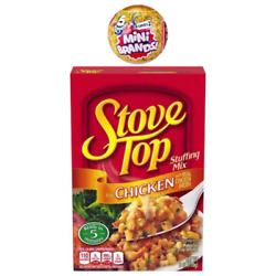 Mini Brands Chicken Stove Top Stuffing Miniature Toy #34 New Loose