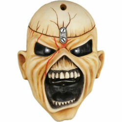 Official Iron Maiden Wall Mounted Bottle Opener Eddie Trooper Face