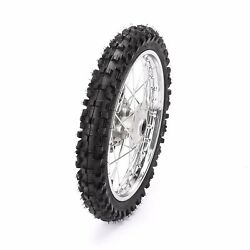 14 Front Wheel And Tire Rotor 60/100-14 For Taotao Apollo Ssr 125cc Crf Pit Bike
