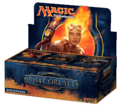 1x 2014 Core Set M14 Booster Box New Booster Boxes - Mtg