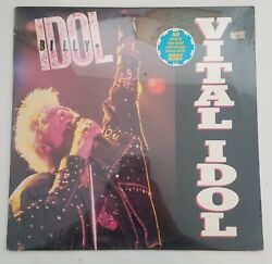 Billy Idol Vital Idol Rare Promo Lp From 1987 Authentic Brand New Sealed