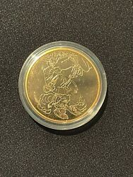 1994 Biblical Art Series Binding Of Isaac By Rembrandt Rare 1/2 Oz Gold Proof