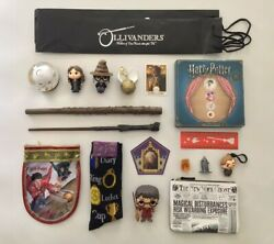 Harry Potter Funko Doll Pencil Case Ruler Hermione Wand Loot Crate Plates Socks