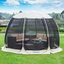 Screen House Room Outdoor Camping Tent Canopy Pop Up Gazebo For Patio