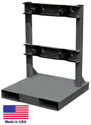 Cylinder Stand Pallet For Lp Propane Welding Gases Compressed Air - 2 Tank Cap