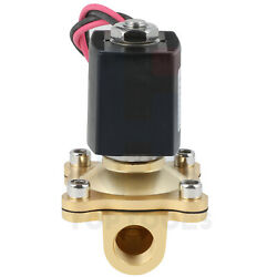 3/8 Inch Brass Electric Solenoid Valve Dc 12v Normally Closed Control Water
