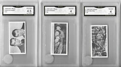 Gma 4 1948 A.b.c. Minors Three Stooges 8 Rare And Undergraded Center Pic