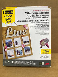 3m Scotch Advanced Tape Glider Pink Atg Permanent Adhesive For Paper Projects