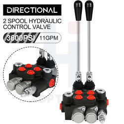 2 Spool 21gpm Hydraulic Directional Control Valves Acting Cylinder Spool 3600psi