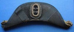 Very Rare 1798 Boston Light Infantry Volunteers Hat Fore And Aft 43rd Regt.