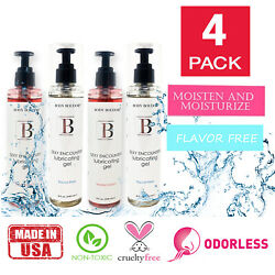 4 Pack Sex Lubricant Water Based Lube For Women Personal Lubricant For Sex 8 Oz.