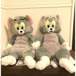Rare Tom And Jerry Premium Big Glitter Plush Doll 2 Types Set Limited To Jp 25in