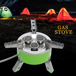 BRS 73 4200W Gas Stove Portable Stainless Steel Out Door Cooking Camping Stove $59.00
