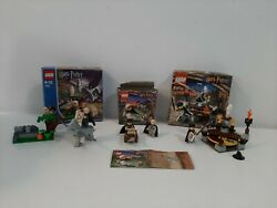Harry Potter Lego Set 4711 Flying Lesson,4750 Draco's Encounter,4701 Sorting Hat