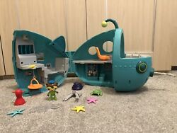 Octonauts Midnight Zone Gup A Toy Figure Playset With Figures And Creatures Bundle