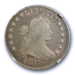 1807 50c Draped Bust Half Dollar Ngc Vf 25 Very Fine To Extra Fine Us Type Coin