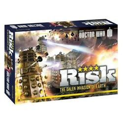 Risk Doctor Who Edition Usaopoly Dalek Armies Invasion Of Earth Bbc Battle