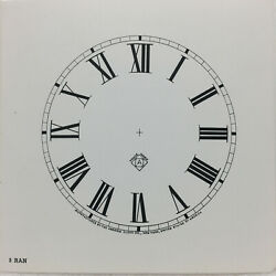 New Old Stock Ansonia 5 Gloss Clock Dial With Roman Numerals For Parts