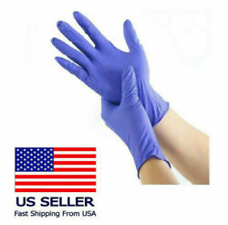 Nitrile Gloves - Latex Free And Powder Free Blue 10 To 4000 Count