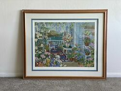 Andldquowild Rosesandrdquo John Powell Hand Signed And Numbered Serigraph