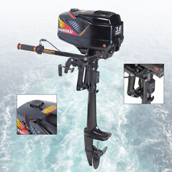 Hangkai 2stroke 3.6hp Outboard Motor Boat Engine W/ Water Cooling Cdi Ignition