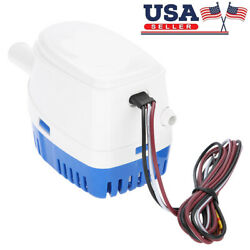 12v Electric Automatic Marine Submersible Bilge Sump Water Pump For Boat Yacht