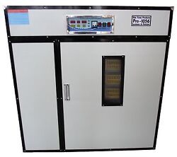 Rite Farm Products Pro-1056 Cabinet Incubator And Hatcher 1056 Chicken Egg Capacit