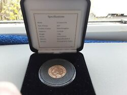 2017 Full Gold Sovereign 200th Anniversary Coin