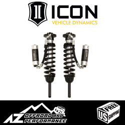 Icon Extended Travel Rr Cdcv Front Coilover Shock Kit For And03903-and03909 Toyota 4runner