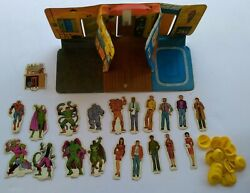 Amazing Spider-man 1973 Playset Vintage 20 Characters Ideal No. 8648-8 Marvel