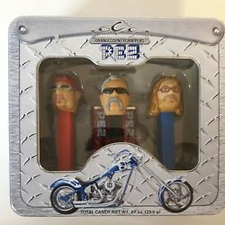 2006 Orange County Choppers Pez Candy Limited Edition Paul Jr. Sr. And Mikey Tv