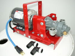 New Portable Waste Oil Transfer Pump,heaters,burners,furnace, Free Shipping