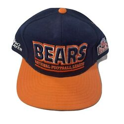 Vintage Chicago Bears Hat Pro Player Nfl Experience Snapback