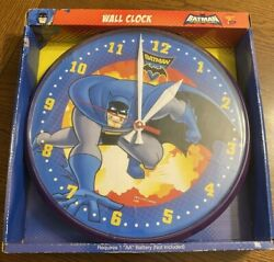 Batman Brave And The Bold Wall Clock Used Dc Cartoon Network Animated