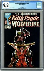 Kitty Pryde And Wolverine 4 Cgc 9.8 1985 1618441039