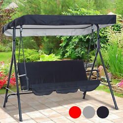 Replacement Canopy Swing Seat Garden Hammock Cover 3 Seater Sizes Spare Cover